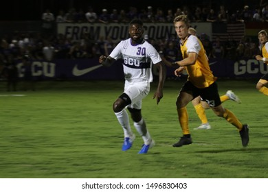 Calvin Kissi forward for the Grand Canyon University Lopes at GCU Stadium in Phoenix,Arizona/USA August 30,2019.