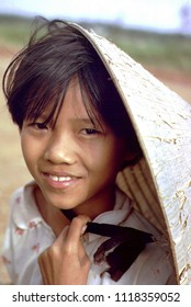 Cam Hieu, Quang Tri Province / Vietnam - Aug. 10, 1967: A young Vietnamese girl I photographed in the village of Cam Hieu, Quang Tri Province, Vietnam, on Aug. 10, 1967.