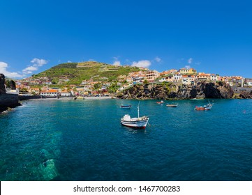 Camara De Lobos - a picturesque fishing on the south-central coast of the island of Madeira. Said to be the birthplace of the local drink poncha