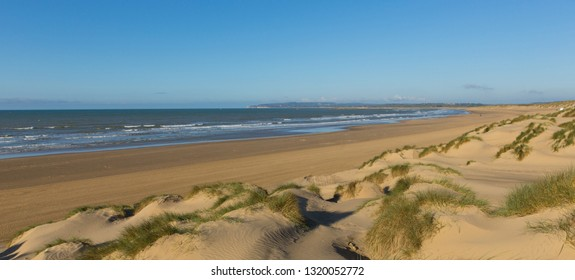 Camber Sands beach East Sussex UK