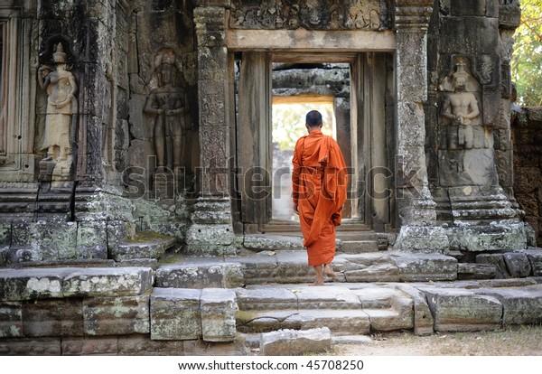 Kambodscha Angkor Banteay Kdei Tempel