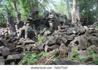 Cambodia. Banteay Chhmar Temple. Banteay Meanchey Province. Sisophon Sity.