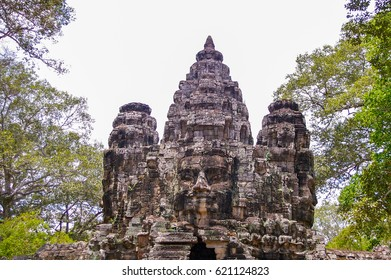 Cambodia has ancient temples and artifacts in abundance around  the city of Siem Reap