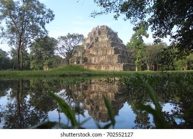 Cambodia. Koh Ker Temple ( Prasat Thom ). Preah Vihear Province. Siem Reap City.