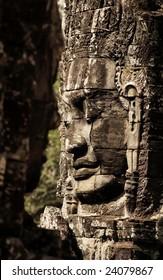 Cambodia Smile ,Bayon Wat ,Siem Riep