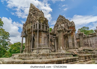 cambodian ruins - preah vihear temple - preah vihear