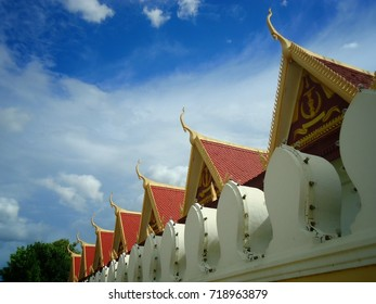 Cambodian style rooftops