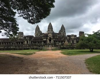 Cambodian Temple Angkor Wat