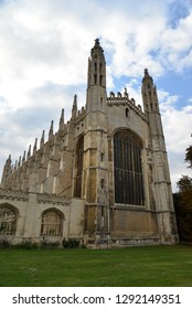 Cambridge, England – September 30, 2018: King's College, Cambridge, United Kingdom, Europe