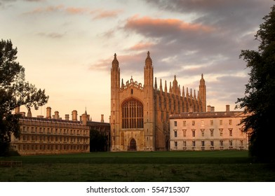 Cambridge, King's College Chapel, England, UK