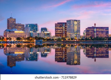 Cambridge, Massachusetts, USA skyline at twilight.