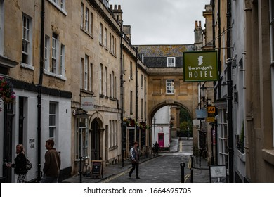 A Cambridge Street, hotel sign, England, UK. Sept 06, 2019