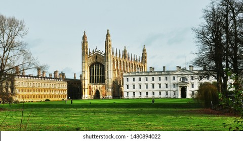 Cambridge/ the UK - 11/27/2017: King's College Chapel