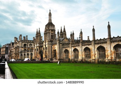 Cambridge/ the UK: Entrance to King's College