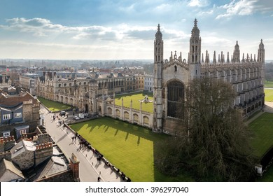 Cambridge University Top View