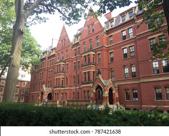 Cambridge, USA - September 14, 2017: Harvard Computer Society in Harvard Yard of Harvard University in Cambridge, Massachusetts, MA, USA.