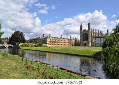 Cambridge view. King's college