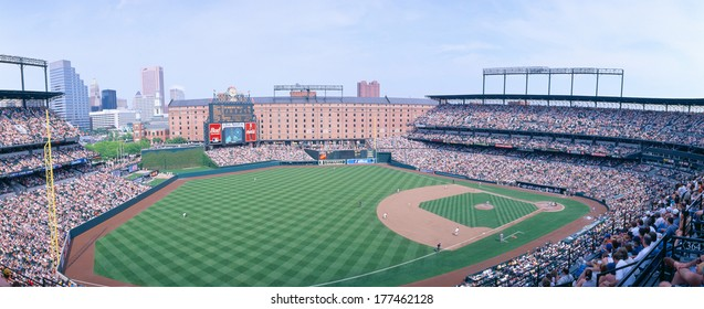 Camden Yard Stadium, Baltimore, Orioles v. Rangers, Maryland