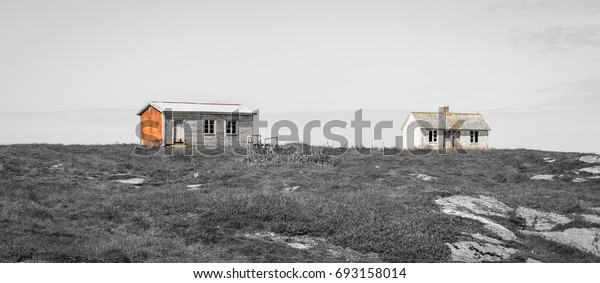 Came Across This Abandoned Farm On Stock Photo (Edit Now