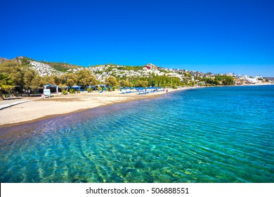 Camel Beach in Bitez, Bodrum, Turkey