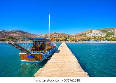 Camel Beach in Bitez, Bodrum, Turkey