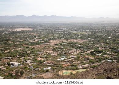Camelback mountain vista in Phoenix, Arizona