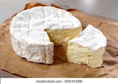 Camembert cheese traditional Normandy French, a dairy product