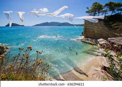 Cameo island with famous beach - Zakynthos, Greece