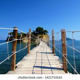 Cameo Island in Zakynthos, Greece