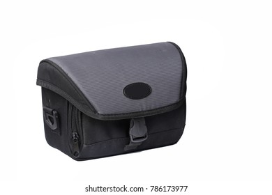 Camera Bag isolated backround
