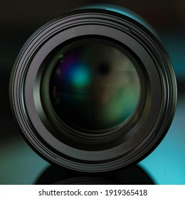 Camera lens high quality photo