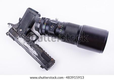 Zoom long focal telescope camera lens clickbd