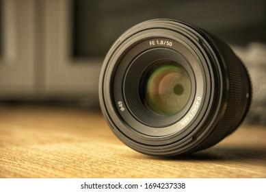 camera lense close up blur