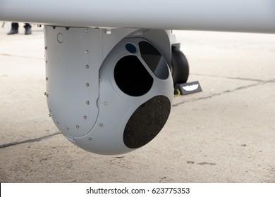 Camera mounted on a UAV drone