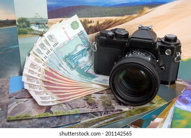 The camera and photos: earn money on photostocks.