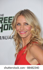 "Cameron Diaz at the Los Angeles premiere of her new movie ""The Green Hornet"" at Grauman's Chinese Theatre, Hollywood. January 10, 2011  Los Angeles, CA Picture: Paul Smith / Featureflash"