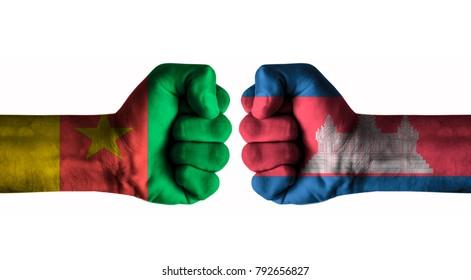 Cameroon vs cambodia