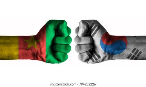 Cameroon vs Korea south