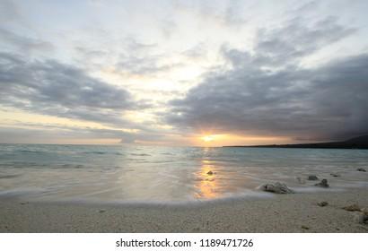 Camiguin White Sand Island Philippines Sunrise