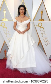 Camila Alves at the 90th Annual Academy Awards held at the Dolby Theatre in Hollywood, USA on March 4, 2018.