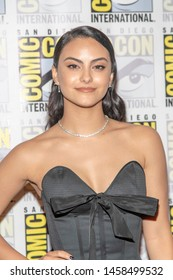 """Camila Mendes attends 2019 Comic-Con International CW's """"Riverdale"""" at Hilton Bayfront, San Diego, California on July 21 2019"""