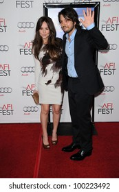"Camila Sodi, Diego Luna  at the ""Abel"" Screening at AFI Fest 2010, Chinese Theater, Hollywood, CA. 11-08-10"
