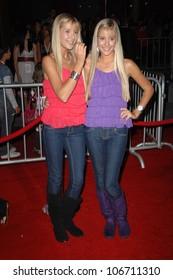 Camilla Rosso and Rebecca Rosso  at the Los Angeles Premiere of 'High School Musical 3 Senior Year'. USC, Los Angeles, CA. 10-16-08