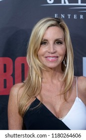 "Camille Grammer attends  Skyline Entertainment's  ""The ToyBox"" Los Angeles  Premiere at Laemmle's NoHo 7, North Hollywood, California on September 14th, 2018"