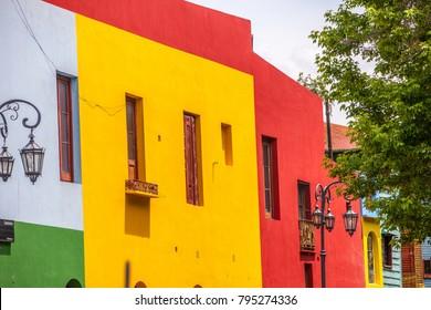 Caminito, The colorful street museum - La Boca - Buenos Aires - Argentina - South America