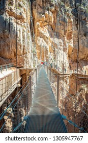 Caminito Del Rey Trail in Andalusia