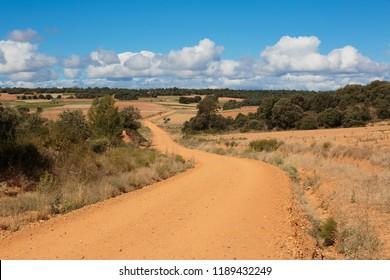 Camino de Santiago (Spain) - The way of St.James, in the spanish meseta