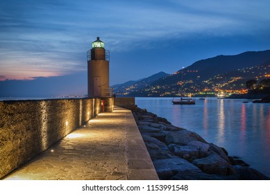 Camogli, beautiful place on ligurian coast, Italy