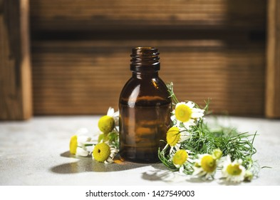 Camomile aromatherapy oil for massage