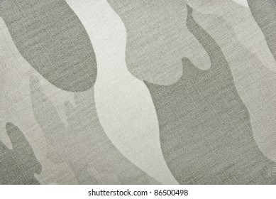 Camouflage background. Textil pattern with camouflage texture - fragment of the military cloth. Material for the soldier wear.